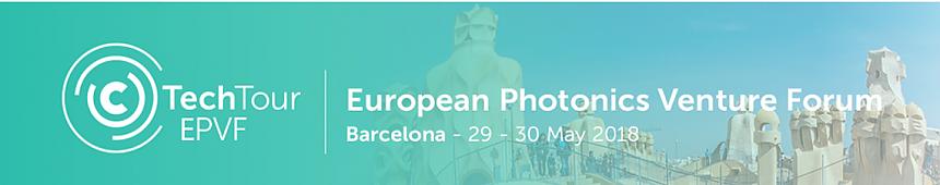 Logo European Photonics Venture Forum 2018