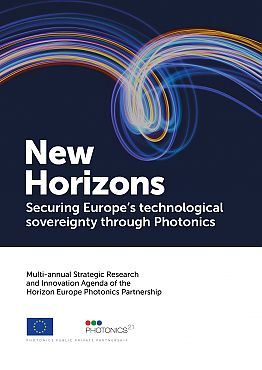 Cover page Photonics Strategic Research and Innovation Agenda